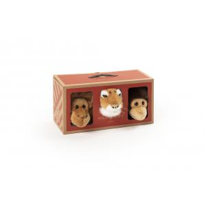Wild and Soft - WS5102 - Coffret jungle petites têtes orang-outan, tigre, singe (415606)