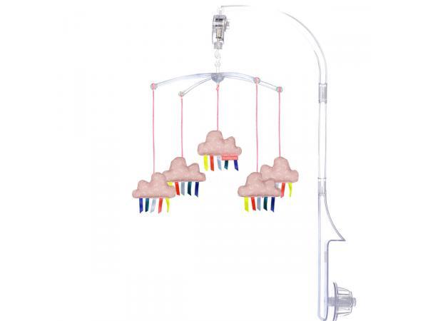 Mobile musical mobam- transparent janis - amélie poulain