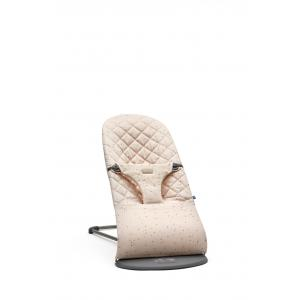 Babybjorn - 006077 - Transat Bliss, Rose/Paillettes, Coton (416040)