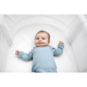 Babybjorn - 085521 - Drap-housse pour Berceau Evolutif, Blanc, Coton bio (416062)