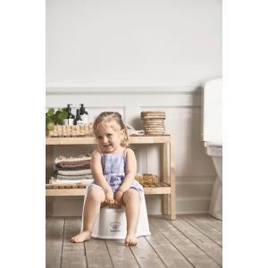 Babybjorn - 055221 - Pot Fauteuil, Blanc/Gris (416076)
