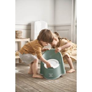 Babybjorn - 055268 - Pot Fauteuil, Vert profond/Blanc (416084)