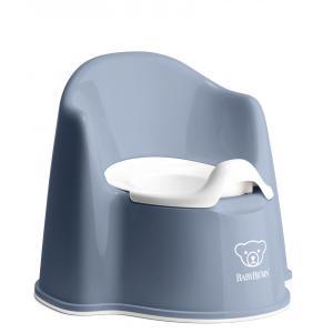 Babybjorn - 055269 - Pot Fauteuil, Bleu profond/Blanc (416086)