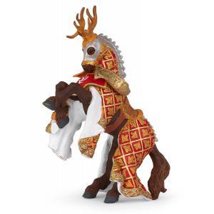 Papo - 39912 - Figurine Cheval du Maître des armes cimier cerf (41644)