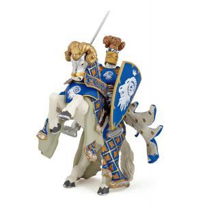 Papo - 39914 - Cheval du Maître des armes cimier bélier - Dim. 14 cm x 6 cm x 9 cm (41646)