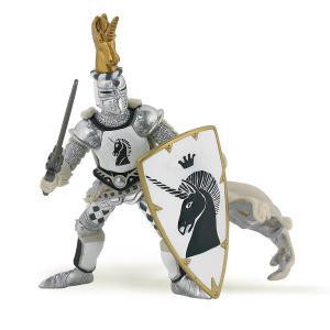 Papo - 39915 - Maître des armes cimier licorne  - Dim. 10 cm x 8 cm x 11 cm (41647)