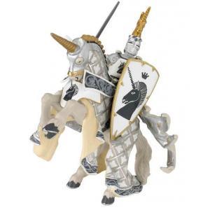 Papo - 39915 - Figurine Maître des armes cimier licorne (41647)