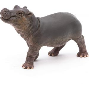 Papo - 50052 - Bébé hippopotame   - Dim. 9 cm x 3 cm x 6 cm (41668)