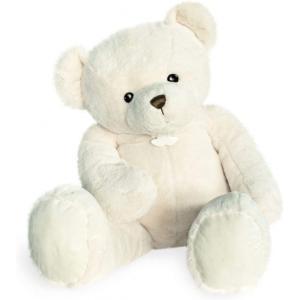 Histoire d'ours - HO2917 - Peluche ours titours - blanc - taille 100 cm (416110)