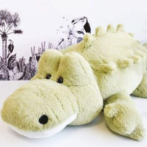 Histoire d'ours - HO2928 - Peluches Croco'doux 80 cm - collection Les grands espaces (416158)