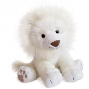 Histoire d'ours - HO2982 - Peluche lion des neiges - taille 40 cm (416162)