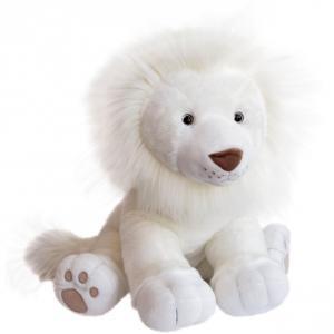 Histoire d'ours - HO2983 - Peluche lion des neiges - taille 65 cm (416164)