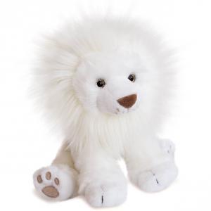 Histoire d'ours - HO2981 - Peluche lion des neiges - taille 28 cm (416166)