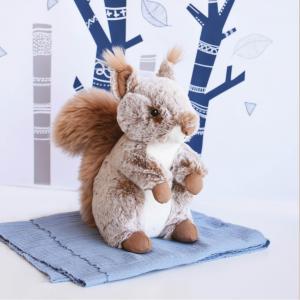 Histoire d'ours - HO2953 - Peluche ecureuil - taille 25 cm (416174)