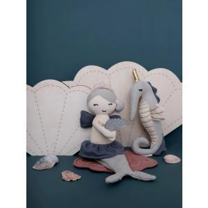 Fabelab - 1901432030 - Rattle Soft - Seahorse 17 cm (416214)