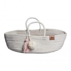 Fabelab - 2805300003 - Rope Doll Basket Mauve 20x35x10 cm (416288)