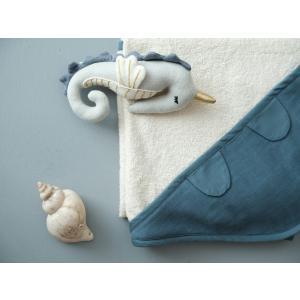 Fabelab - 1900800026 - Towel - Baby - Blue Spruce 85 x 85cm (416484)