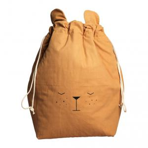 Fabelab - 1901904105 - Storage Bag - Bear - Ochre 60 x 40 cm (416552)