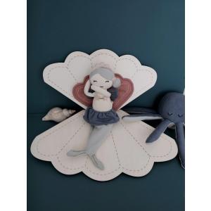 Fabelab - 1901440126 - Rattle Soft - Octopus (416668)