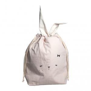 Fabelab - 1901903103 - Storage Bag - Bunny - Mauve 60 x 40 cm (416670)