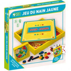 L'Arbre à jouer - 66320 - Jeu du nain jaune - coffret en bois (416724)