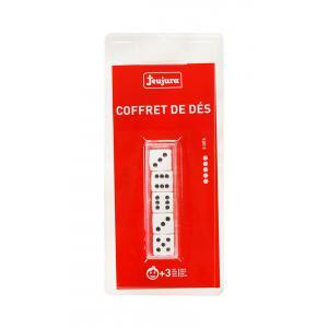 Jeujura - 8981 - Coffret 5 des (16 mm) - blister (416730)