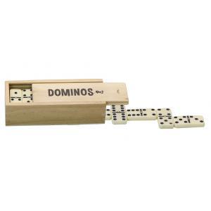 L'Arbre à jouer - 66460 - Dominos avec pivots - coffret en bois (416768)