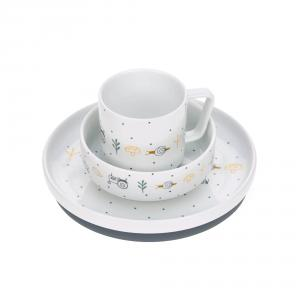 Lassig - 1210037481 - Coffret repas en porcelaine Garden Explorer (416864)