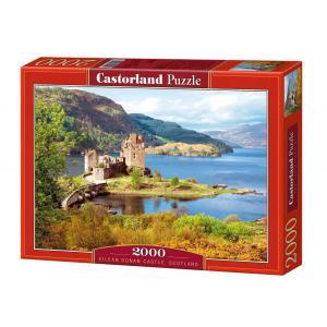 Castorland - 200016 - Puzzle 2000 pièces - Château Eilean Donan, Ecosse (41799)