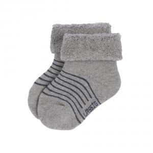 Lassig - 1532001960-19 - Lot de 3 chaussettes bébé GOTS bleu (417180)