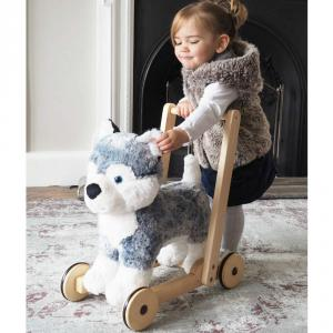Little Bird Told Me - LB3087 - Dogs et Puppies - Mishka Dog Push Along (417290)