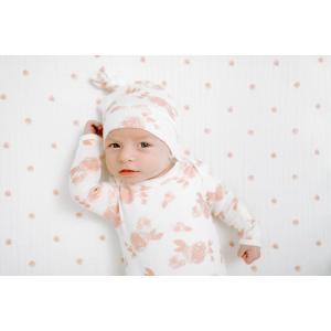 Aden and Anais - AHAN10001 - Bonnet naissance maille ultra-cosy rosettes (417456)