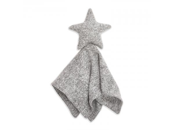 Doudou musy mate lovey maille ultra-cosy heather grey
