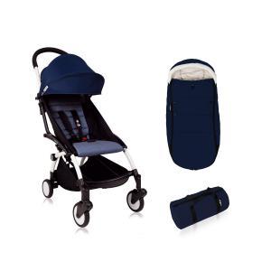 Babyzen - Bu212 - Poussette enfant YOYO+ 6+ Bleu Air France avec chancelière (417486)
