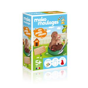 Mako moulages - 39046 - Mako moulages Mes petits chiots Boîte unitaire - (417574)