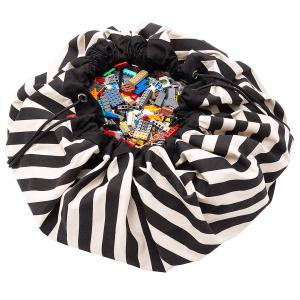 Play and Go - 30030 - Sacs de rangement Play and go Stripes Black - 140 cm (417604)