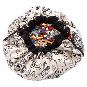 Play and Go - 30038 - Sacs de rangement Play and go Color My bag OMY PARIS - 140 cm (417614)