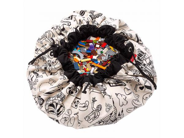 Sacs de rangement play and go color my bag omy paris - 140 cm