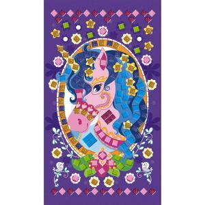 Janod - J07804 - Mosaïques en mousse poneys et licornes (418084)