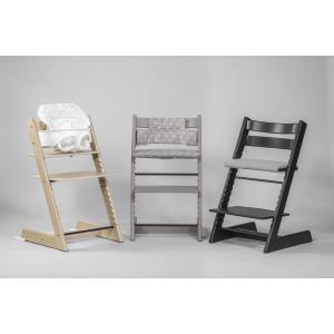 Stokke - BU200 - Pack Stokke chaise haute Tripp trapp Gris pâle et coffret Munch repas essentiels (418264)