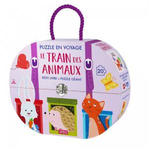 Sassi - 600525 - Puzzle en Voyage. Le Train des Animaux (418352)