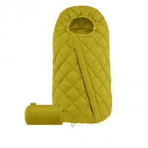 Cybex - 520003478 - Chancelière universelle Snøgga Mustard Yellow-yellow (418396)
