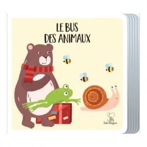 Sassi - 604806 - Puzzle en Voyage : le Bus des Animaux (418398)