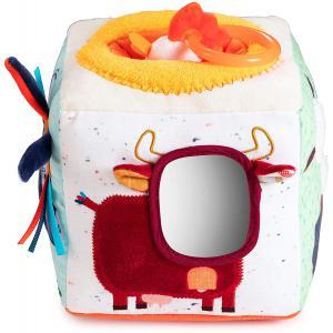 Lilliputiens - 83156 - FERME Cube sonore d'activités 13 x 13 cm (418534)