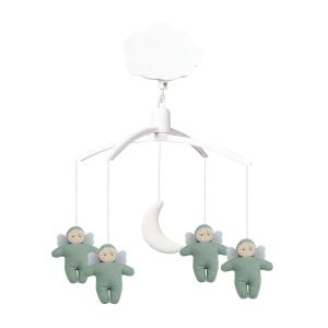 Trousselier - VM1144 61 - Mobile Musical Anges - Lin Celadon (418652)