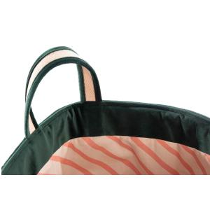 Nobodinoz - N113333 - Sac à jouets Savanna JUNGLE GREEN (418678)