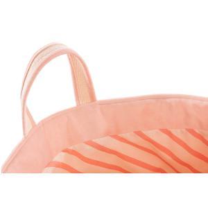 Nobodinoz - N113319 - Sac à jouets Savanna Nobodinoz velours coton bloom pink (418682)