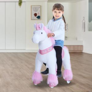 Ponycycle - U402 - Licorne rose grand modèle - 84x40x97 cm (418686)