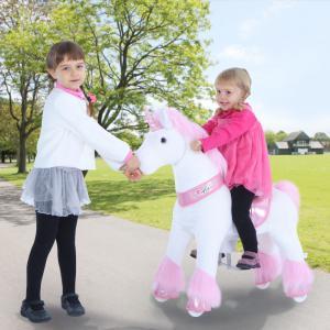 Ponycycle - U302 - Licorne rose petit modèle - 69x33x79 cm (418694)