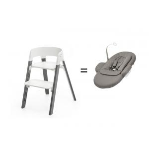 Stokke - 561800 - Pack chaise stokke Steps avec newborn set (418776)